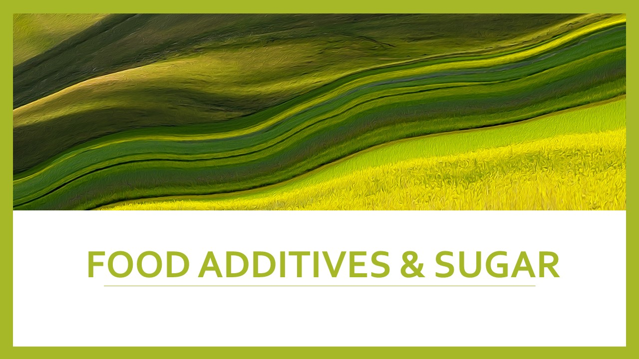 Food Additives & Sugars increase Hyperactivity?